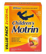 Children's Motrin Ibuprofen Oral Suspension Fruit