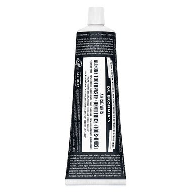 Dr. Bronner\'s Magic Soap Anise ALL-ONE Toothpaste