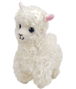 Ty Beanie Babies Lily The Cream Llama