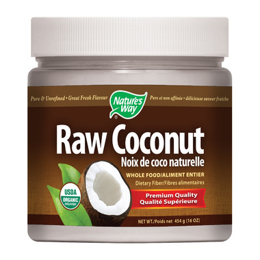 Nature\'s Way Raw Organic Coconut
