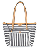TWELVElittle Everyday Tote Plus Stripe Print