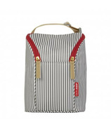 Skip Hop Grab and Go Double Bottle Bag French Stripe