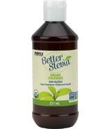 Édulcorant liquide biologique NOW Better Stevia