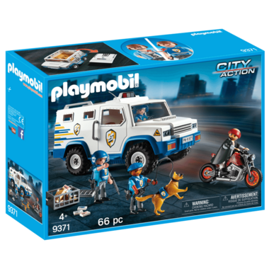 Playmobil Money Transport Vehicle