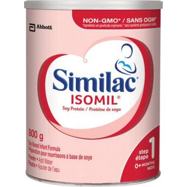 Similac Isomil Step 1 Soy-Based Infant Formula Powder