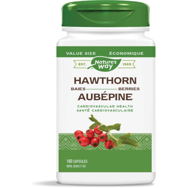 Nature\'s Way Hawthorn Berries Value Size