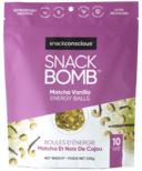 Snack Conscious Snack Bomb Matcha Vanilla Cashew Energy Balls