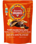 Heavenly Organics Peanut Chocolate Honey Patties