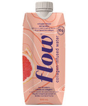 Flow Alkaline Spring Water Collagen-Infused Spring Water Pink Grapefruit