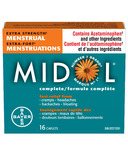 Midol Extra Strength Menstrual Complete Small Bottle