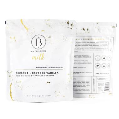 Bathorium Coconut & Bourbon Vanilla Milk