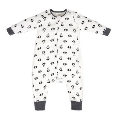 Nest Designs Bamboo Long Sleeve Sleep Suit 0.6 TOG Panda Party