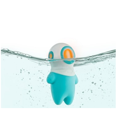 Boon Marco Light-Up Bath Toy Blue