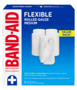 Band-Aid Brand Rolled Gauze Bandage Wrap for First Aid