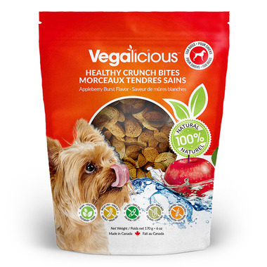 Vegalicious Healthy Crunch Bites Appleberry Burst