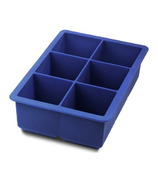 Tovolo King Cube Ice Tray Blue