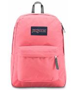 Jansport Super Break Backpack Strawberry Pink 25L