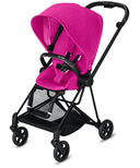 Cybex Mios Matte Black Frame with Fancy Pink Seat Pack