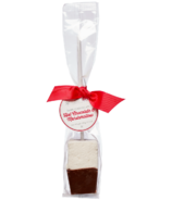 Saxon Chocolates Dark Chocolate Hot Chocolate Marshmallow Stir Stick