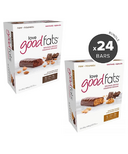 Love Good Fats Peanut Butter Chocolate & Chocolatey Almond Snack Bar Bundle