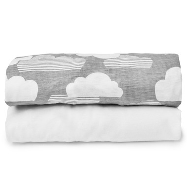Skip Hop Play-to-Night Travel Crib Sheet Set