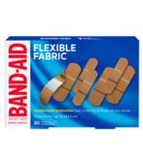 Band-Aid - Pansements adhésifs en tissu souple - Paquet économique