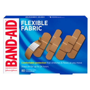 Band-Aid Flexible Fabric Adhesive Bandages Value Pack