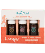 Therawell Essential Oil Blend 3 Pack Energize