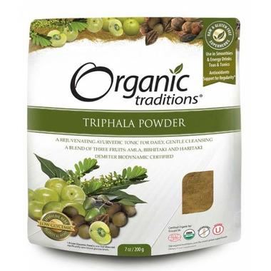 Organic Traditions Triphala Powder