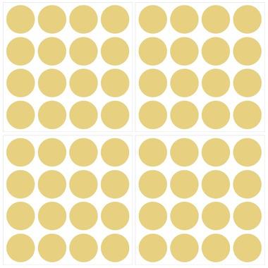 WallPops Metallic Gold Confetti Dots