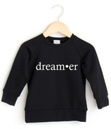 Posh & Cozy Crewneck Sweater Dreamer Black NB-1T