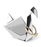 Umbra Origami Swan Ring Holder Chrome