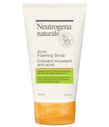 Neutrogena Naturals Acne Foaming Scrub