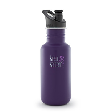 Klean Kanteen Classic Water Bottle with Sport Cap 3.0 Berry Syrup Matte