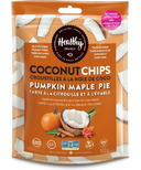 Healthy Crunch Pumpkin Maple Pie Coconut Chips