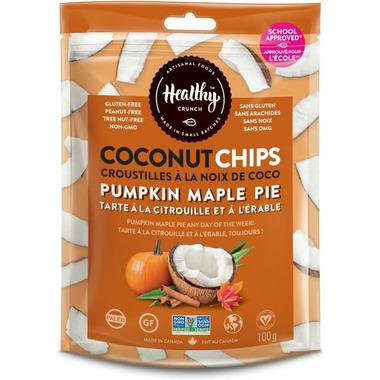 Healthy Crunch Pumpkin Maple Pie Coconut Chips