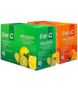 Ener-C 1000 mg Vitamin C Effervescent Drink Mix Bundle