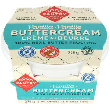 Good Pantry Buttercream Frosting Vanilla