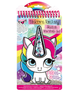Fashion Angels Unicorn Fantasy Compact Sketch Portfolio