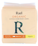 Rael Organic Cotton Cover Panty Liners Regular