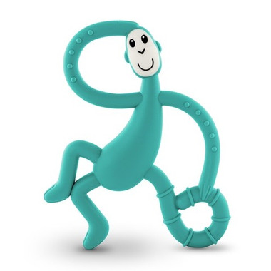 Matchstick Monkey Dancing Monkey Teether Green