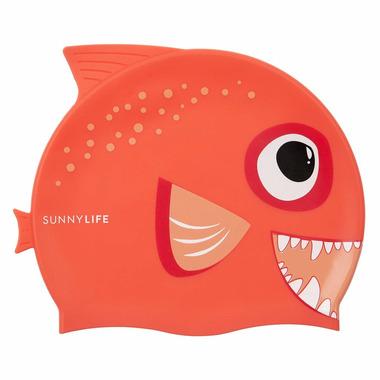 Sunnylife Swimming Cap Fishy Red