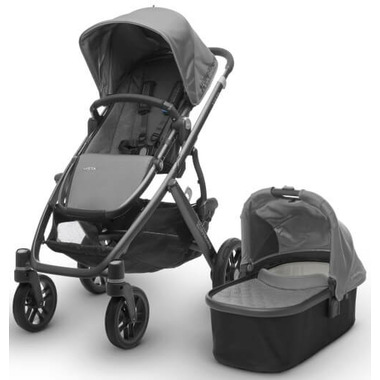 Buy UPPAbaby Vista Stroller Pascal Grey & Graphite Frame ...