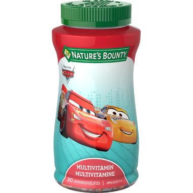 Nature\'s Bounty Disney Pixar Cars Multivitamin Gummies