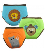 Zoocchini Boys Organic Training Pants Safari Friends