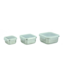 Minimal Stainless Steel Food Container Set SQ