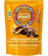 Heavenly Organics Ginger Chocolate Honey Patties