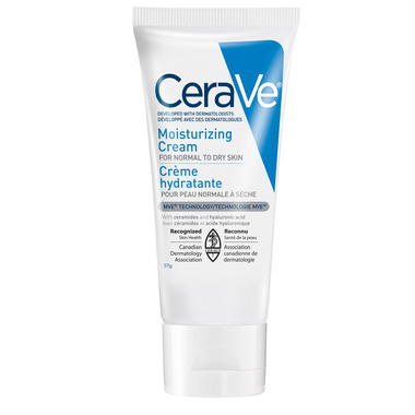 CeraVe Moisturizing Cream Daily Face & Body Moisturizer