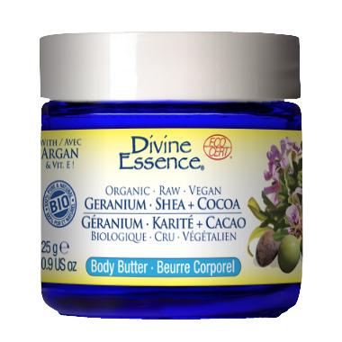 Divine Essence Geranium Shea + Cocoa Body Butter