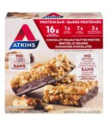 Atkins Chocolaty Peanut Butter Pretzel Bars